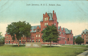 South Dormitory, M.A.C., Amherst, Mass.