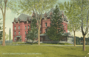 North Dormitory, M.A.C., Amherst, Mass.