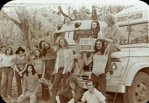 Meeting of hippie buses