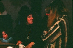 Laurie Cabot, 'The Witch of Salem' at the Noble Feast with Robin Paris and May Ristich