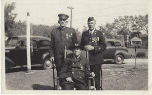 Plainville Veterans of three wars