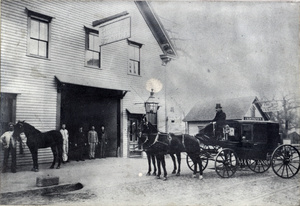 Church & Burt's Stable, on Cohannet Street