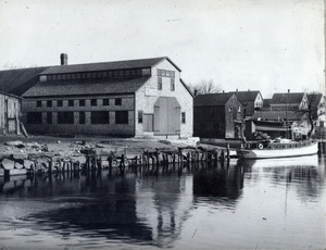 E.H. Brown's Boat Building Shop