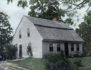 Home of Captain Richard Cobb, an officer in the French and Indian War at 518 Tremont Street