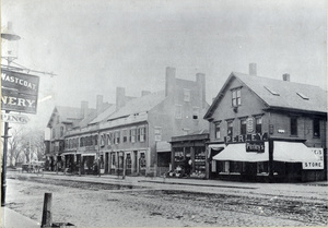 North Side of Main Street, between Trescott and School Streets