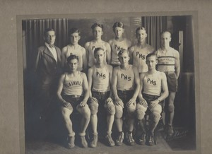1929 Plainville High School Basketball Team