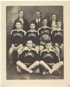 1930 Plainville High School Basketball Team