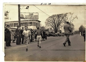 First place runner in the 1939 Teldford Marathon Boys Race