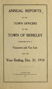 Annual report of the Town of Berkley