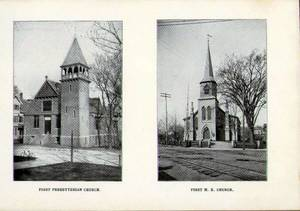 First Presbyterian Church and the First Methodist Episcopal Church
