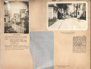 Scrapbooks of Althea Boxell (1/19/1910 - 10/4/1988), Book 1, Page 1