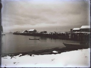 West End Wharf in Winter