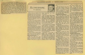 Scrapbooks of Althea Boxell (1/19/1910 - 10/4/1988), Book 4, Page 122