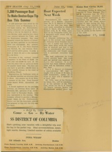 Scrapbooks of Althea Boxell (1/19/1910 - 10/4/1988), Book 5, Page 57
