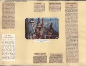 Scrapbooks of Althea Boxell (1/19/1910 - 10/4/1988), Book 5, Page 2