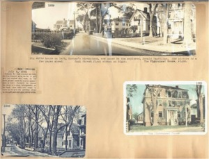 Scrapbooks of Althea Boxell (1/19/1910 - 10/4/1988), Book 1, Page 54
