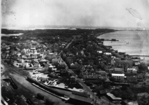 Looking East from the top of the Monument c. 1930
