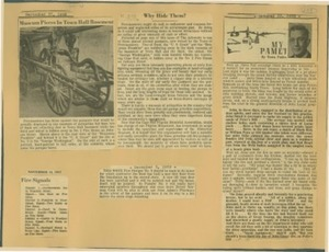Scrapbooks of Althea Boxell (1/19/1910 - 10/4/1988), Book 2, Page 115
