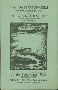 "Playbill--The Barnstormers in ""S.S. Glencairn"