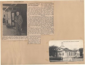 Scrapbooks of Althea Boxell (1/19/1910 - 10/4/1988), Book 1, Page 61