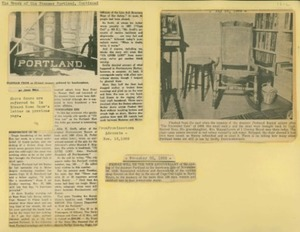 Scrapbooks of Althea Boxell (1/19/1910 - 10/4/1988), Book 4, Page 51