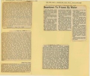 Scrapbooks of Althea Boxell (1/19/1910 - 10/4/1988), Book 5, Page 60