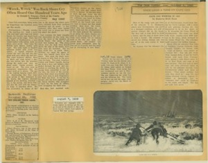 Scrapbooks of Althea Boxell (1/19/1910 - 10/4/1988), Book 4, Page 142