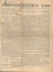 The Provincetown Log - July 1938
