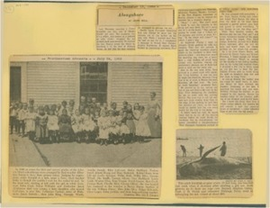 Scrapbooks of Althea Boxell (1/19/1910 - 10/4/1988), Book 2, Page 101