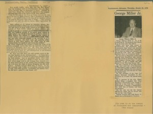 Scrapbooks of Althea Boxell (1/19/1910 - 10/4/1988), Book 2, Page 109