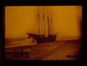 Four Masted on the Beach