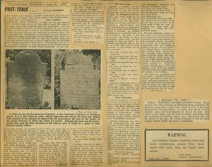 Scrapbooks of Althea Boxell (1/19/1910 - 10/4/1988), Book 2, Page 150