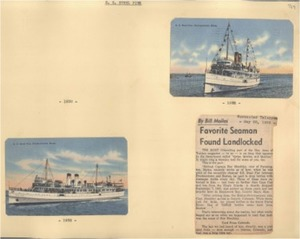 Scrapbooks of Althea Boxell (1/19/1910 - 10/4/1988), Book 5, Page 48