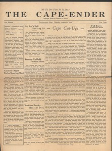 The Cape Ender - August 11, 1938