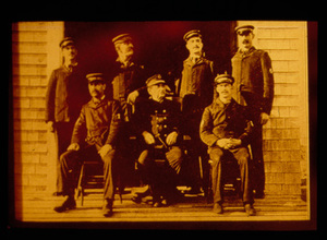 The Crew of Wood End Station