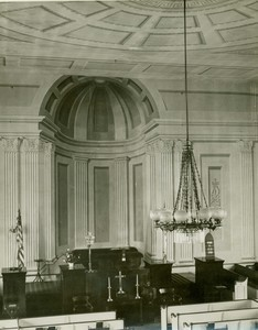 Photo of Interior of Unitarian/Universalist Church