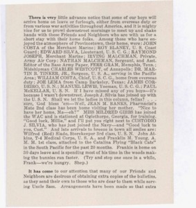 Scrapbooks of Althea Boxell (1/19/1910 - 10/4/1988), Book 1, Page 125