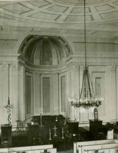 Interior Universalist-Unitarian Church