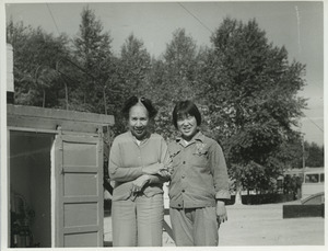 Shirley Graham Du Bois with an unidentified women
