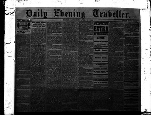 Lincoln headlines: Daily Evening Traveler, April 15, 1865