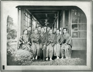 Benjamin Smith Lyman and Japanese assistants