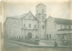Church and convent of St. Agustin