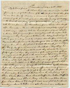 Howland Family Papers, 1727-1886 (bulk 1777-1844)