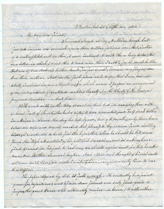 Letter from M. H. Beede to Samuel Boyd Tobey