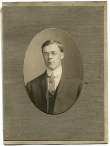 Charles W. Carpenter: studio portrait
