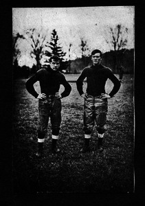 Unidentified Massachusetts Agricultural College football players
