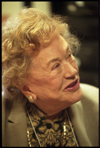 Julia Child, close-up