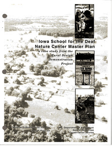 Iowa School for the Deaf Nature Center master plan