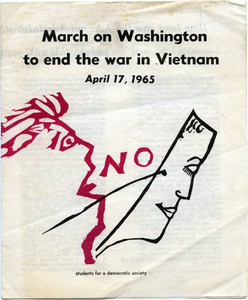 March on Washington to end the war in Vietnam, April 17, 1965