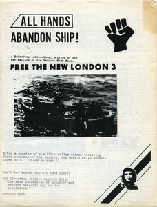 All hands abandon ship: Free the New London 3